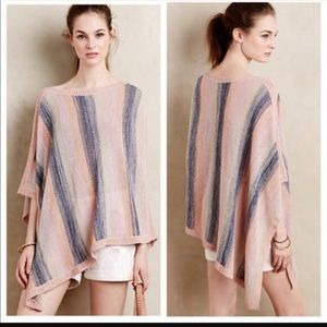 Anthropologie poncho sweater by Moth